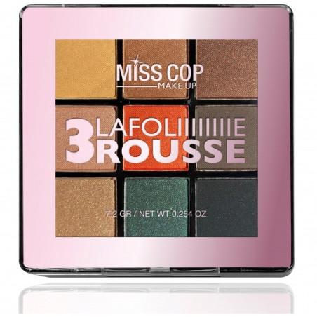 Miss Cop - Palette de Fard à Paupières - Rousse