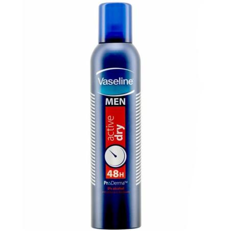 Vaseline - Déodorant Anti-Transpirant - Men Active Dry 250ml
