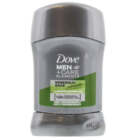 Dove - Anti-Transpirant MEN+CARE Stick Minerals & Sage 40ml