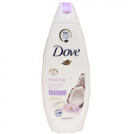 Dove - Gel Douche au Lait de Coco et Pétales de Jasmin Relaxing 250ml