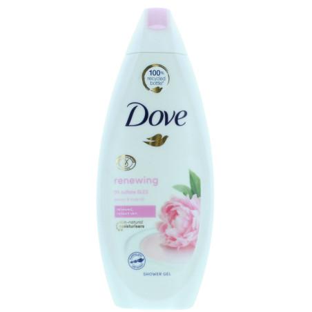 Dove - Gel Douche à l'Huile de Pivoine et de Rose Renewing 250ml