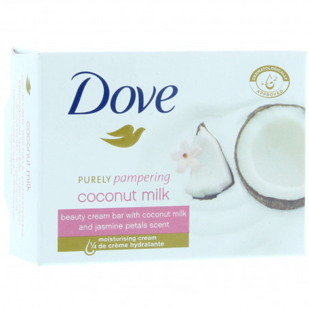 Dove - Savon au Lait de Coco Purely Pampering 100G