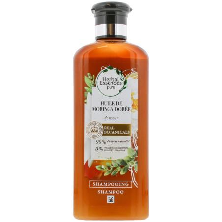 Herbal Essences - Shampoing HUILE DE MORINGA DORÉE - 250ml