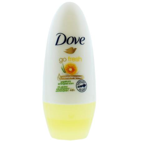 Dove - Déodorant Anti-Transpirant - Go Fresh Pamplemousse et Citronnelle 50ml