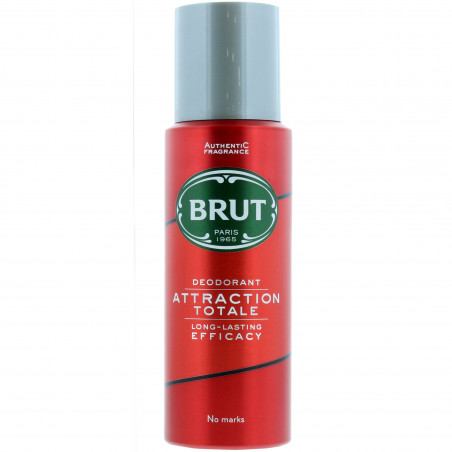 Brut - Déodorant Spray ATTRACTION TOTALE 200ml