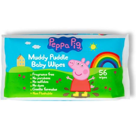 Peppa Pig - Lingettes Bébé - 56pcs