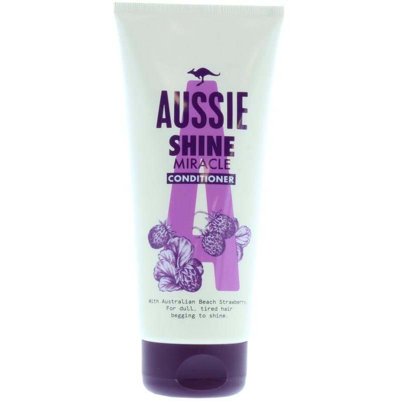 Aussie - Après-Shampoing SHINE MIRACLE 200Ml - Beach Strawberry