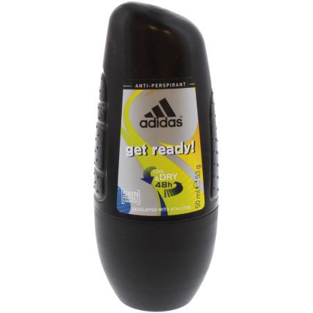 Adidas - Anti-transpirant Roll-On GET READY 50Ml - Homme