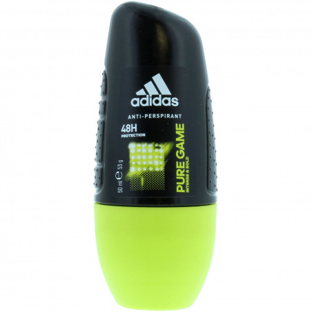 Adidas - Anti-transpirant Roll-On PURE GAME 50Ml - Homme