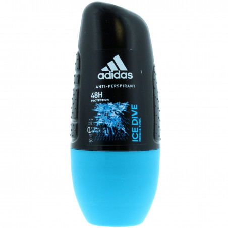 Adidas - Anti-transpirant Roll-On ICE DIVE 50Ml - Homme