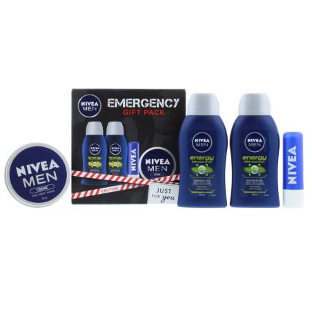 Nivea - Coffret Cadeau - Emergency Wash - Homme