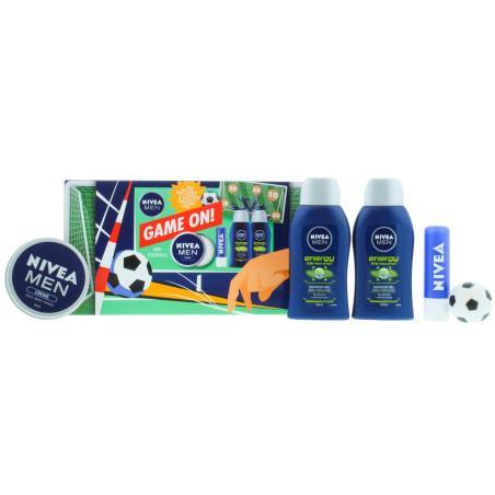 Nivea - Coffret Cadeau - Game On Mini Essentials - Homme
