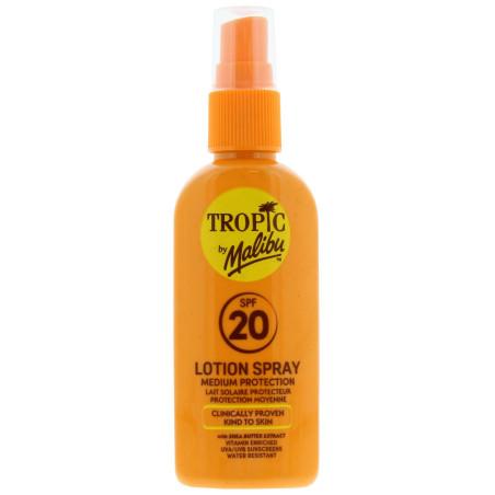 Malibu - Lotion Spray SPF20 - Tropic By Malibu 100ml