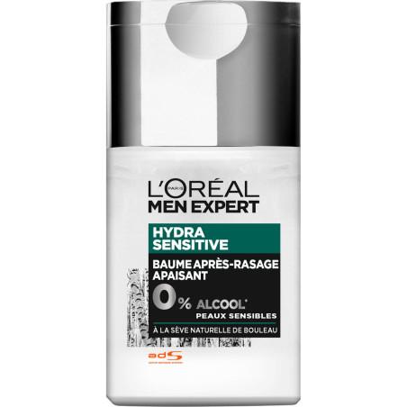 L'Oréal Paris - Baume Après-Rasage Hydra Sensitive MEN EXPERT - 125ml