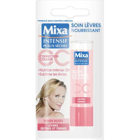 Mixa - Soin Lèvre Nourrissant CC - Teinte Rosée