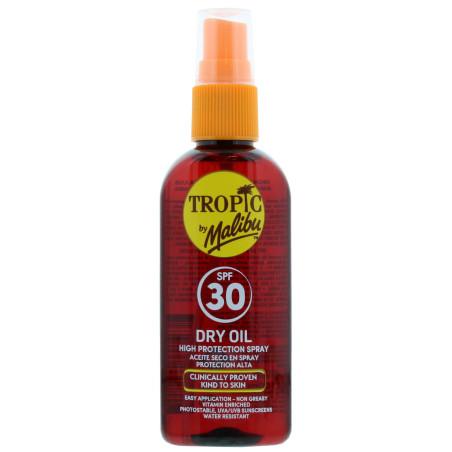 Malibu - Huile Sèche Spray SPF 30 - Tropic By Malibu 100ml