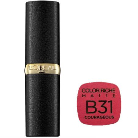 L'Oréal Paris - Rouge à lèvres COLOR RICHE MATTE - B31 Courageous