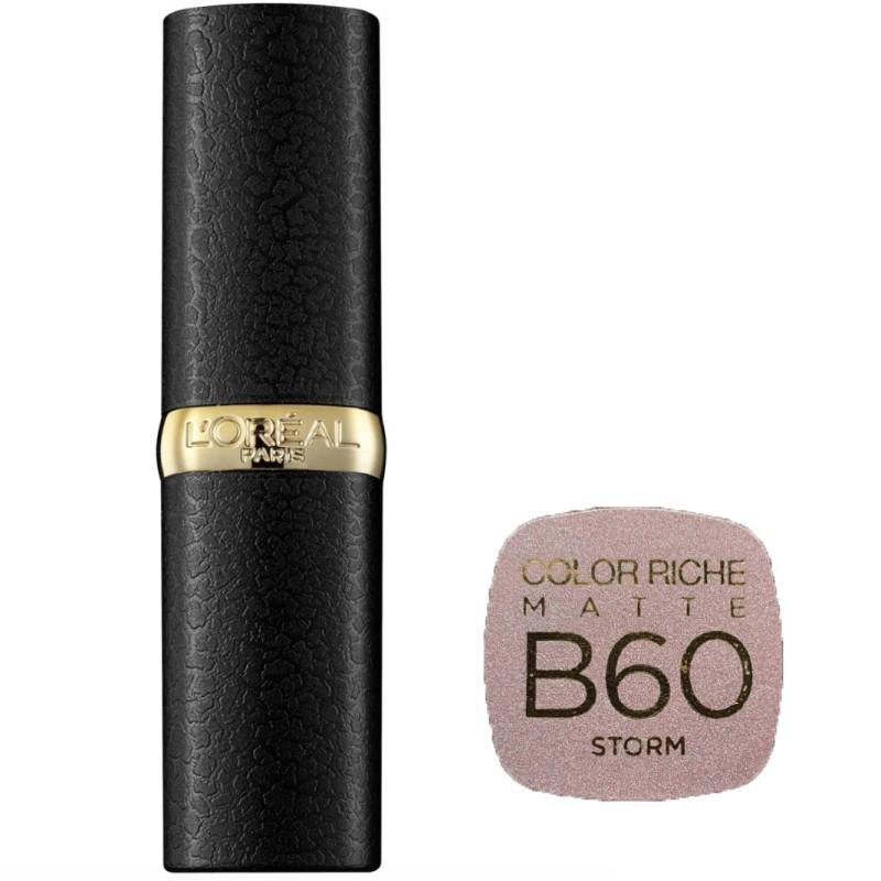 L'Oréal Paris - Rouge à lèvres COLOR RICHE MATTE - B60 Storm