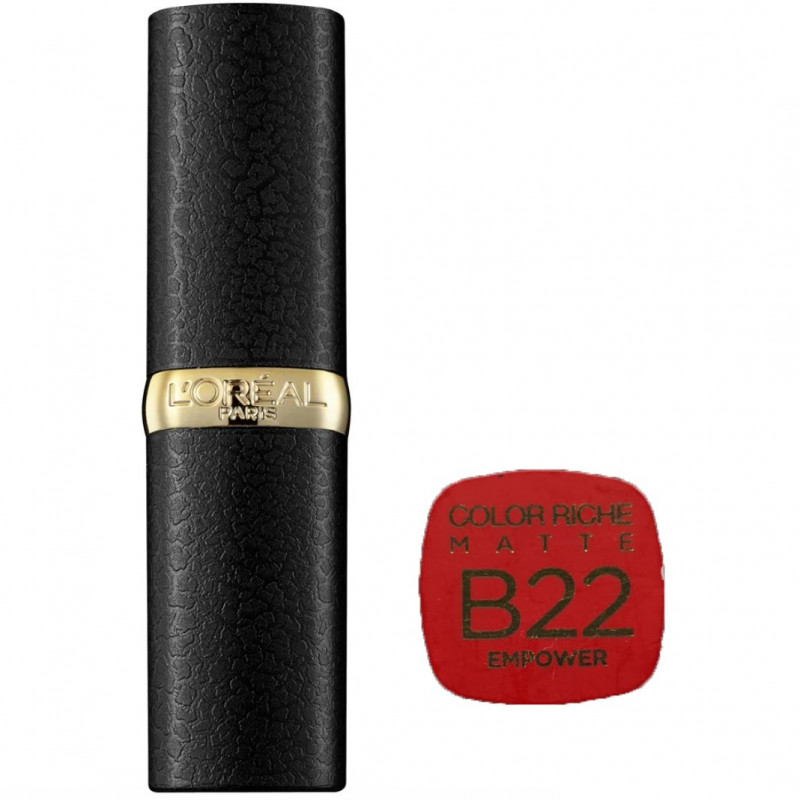 L'Oréal Paris - Rouge à lèvres COLOR RICHE MATTE - B22 Empower