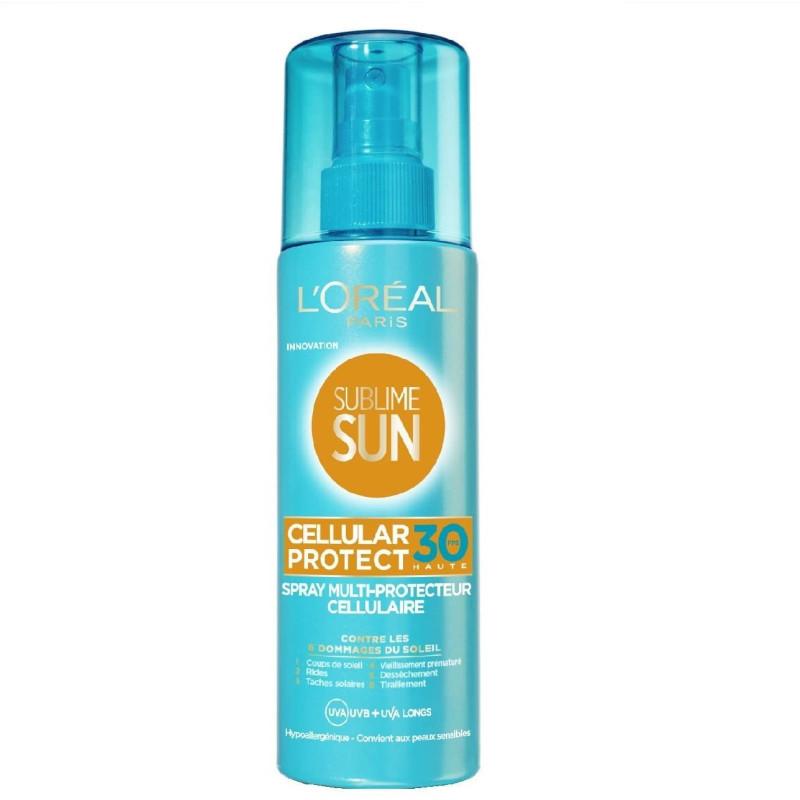 L'Oréal Paris - Spray Protecteur Anti-âge Solaire SPF 30 SUBLIME SUN - 200ML