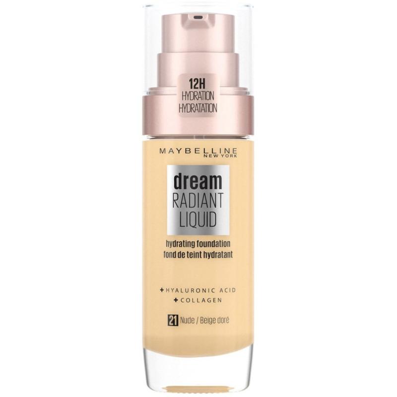 Maybelline New York - Fond De Teint DREAM RADIANT LIQUID - 21 Beige Doré