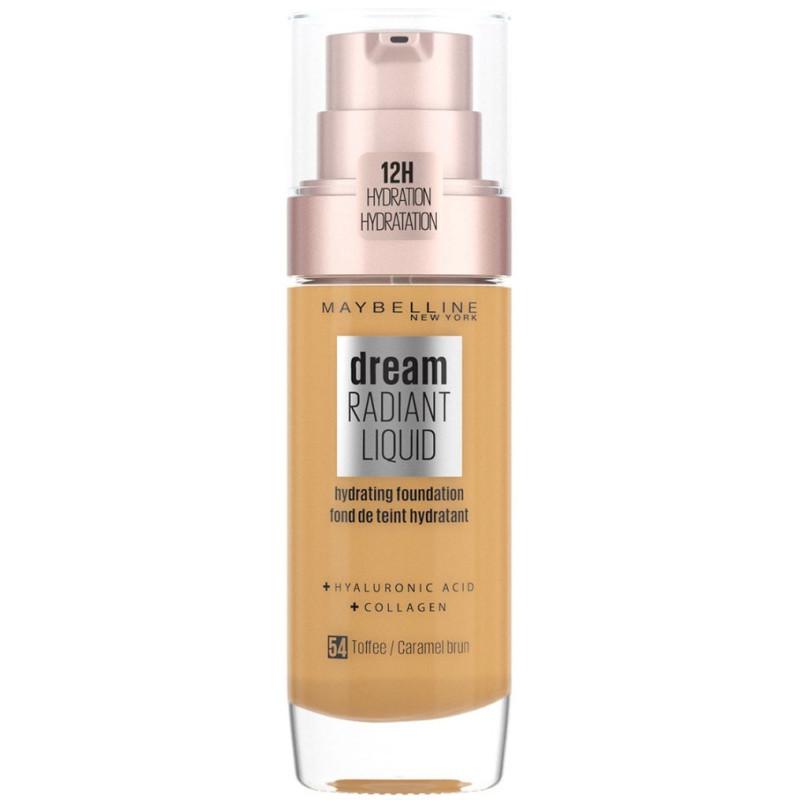 Maybelline New York - Fond De Teint DREAM RADIANT LIQUID - 54 Caramel Brun