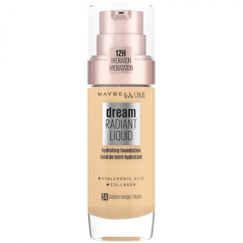 Maybelline New York - Fond De Teint DREAM RADIANT LIQUID - 24 Nude
