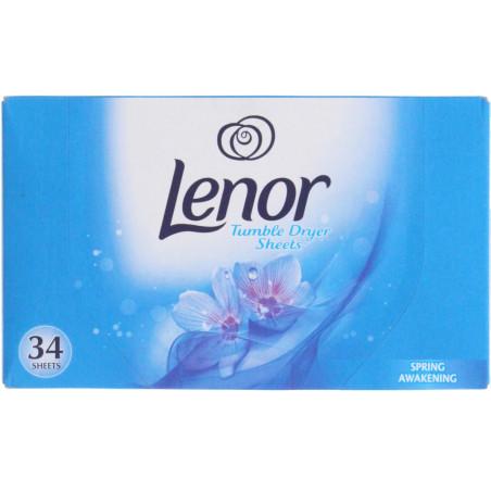 Lenor - Tissu Sèche-linge SPRING AWAKENING - 34 Feuilles