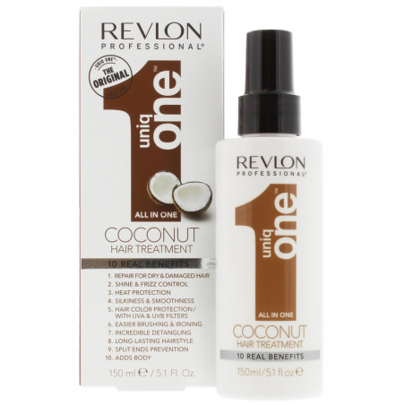 Revlon - Soins Sans Rinçage - All In One UNIQ ONE - Coconut 150ml