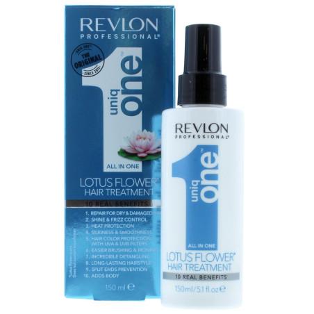 Revlon - Soins Sans Rinçage - All In One UNIQ ONE - Fleur de Lotus 150ml