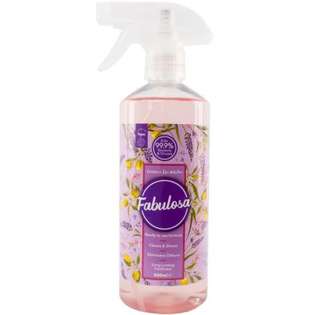 Fabulosa - Spray Anti-Bactérien 500ml - Lemon Lavender