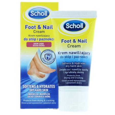 Scholl - Crème Hydratante Pieds & Ongles - 60ml