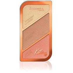 Rimmel - Palette Contouring Kate - Golden Bronze 003