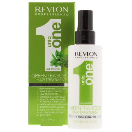 Revlon - Soins Sans Rinçage - All In One UNIQ ONE - Thé Vert  150ml