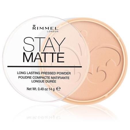 Rimmel - Poudre Compacte Stay Matte -  Cachemire 008