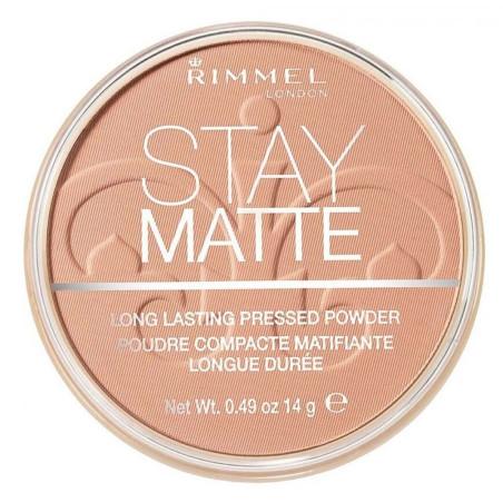 Rimmel - Poudre Compacte Stay Matte - Buff Beige 012