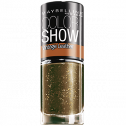 GEMEY MAYBELLINE - Vernis COLORSHOW VINTAGE LEATHER - 209 Gilded emeralds