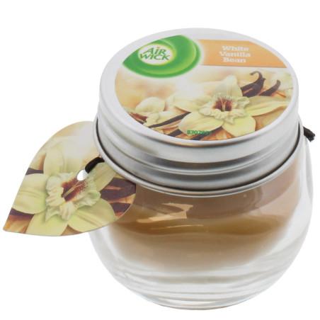Air Wick - Bougie Parfumée - Gousse de Vanille Blanche 30g