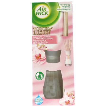 Air Wick - Bouquet Parfumé - Soie Précieuse & Orchidées Orientales 25ml