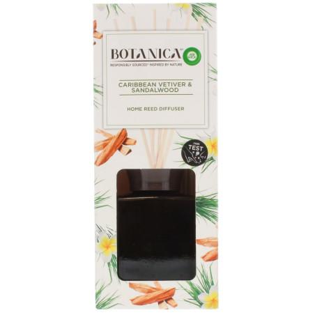 Air Wick - Bouquet Parfumé Botanica - Vétiver des Caraïbes et Bois de Santal 80ml