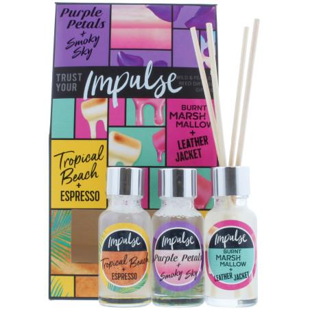 Impulse Wild & Fearless - Bouquet Parfumé 3x20ml
