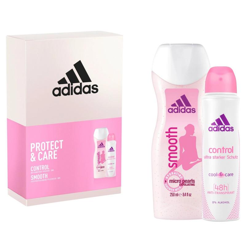 Adidas - Coffret Cadeau Control Smooth - 2pcs