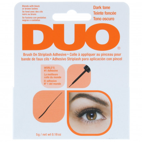 Duo - Colle Pour Faux Cils Brush On - Dark 5g