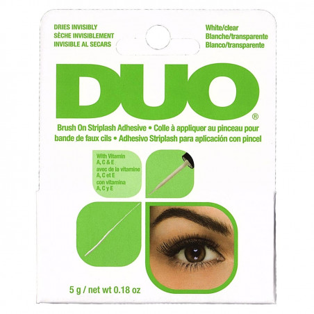 Duo - Colle Pour Faux Cils Brush On - Blanche 5g