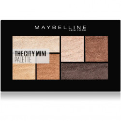 Maybelline New York - Palette Fard à Paupières THE CITY MINI - 400 Rooftop Bronzes