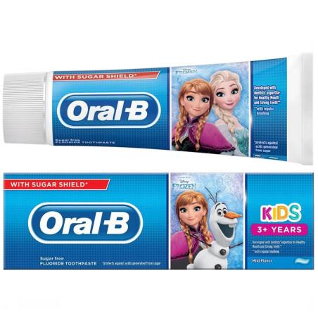 Oral-B - Dentifrice Enfants 3 ans - La Reine des Neiges 75ml