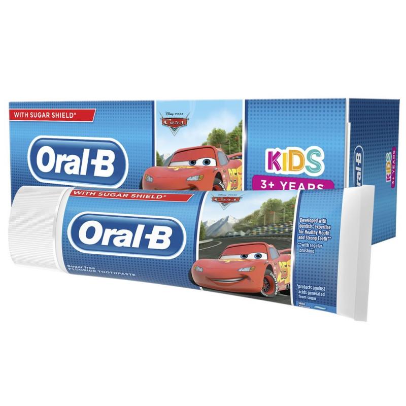 Oral-B - Dentifrice Enfants 3 ans + Assorti 75ml