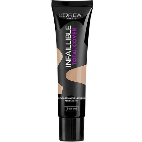 L'Oréal Paris - Fond de teint INFAILLIBLE TOTAL COVER - 9 Light Sand