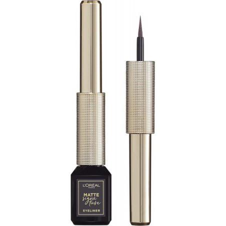 L'Oréal Paris - Eyeliner Liquide Mat X KARL - 06 Greige Signature