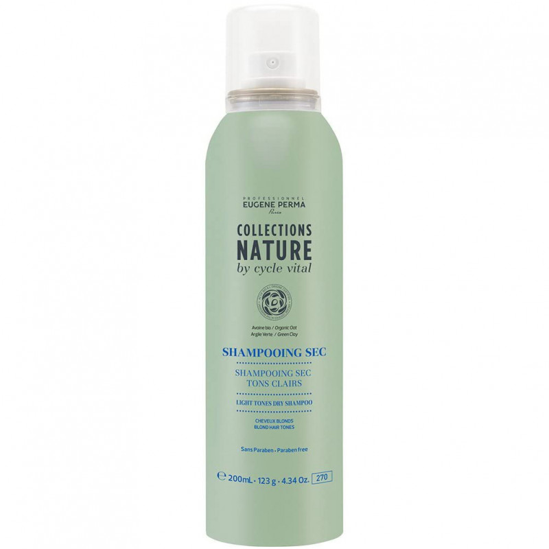 Eugène Perma - Shampoing Sec Tons Clairs COLLECTIONS NATURE - 200ml